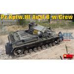 Panzer III Ausf.B w/Crew