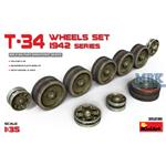 T-34 Wheels set. 1942 series