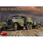 Soviet 2T Truck AAA Type w/Field Kitchen