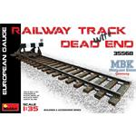 European Gauge Railway Track with Dead End