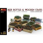 Beer Bottles & Wooden Crates