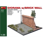 Diorama w/ Brick Wall