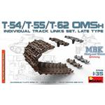 T-54,T-55,T-62 OMSH track links set, late type