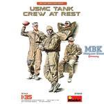 USMC Tank Crew at rest