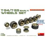 T-54, T-55 (early) Wheels Set