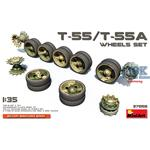 T-55, T-55A Wheels Set