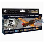Model Air Set US Army Air Corps Mediterranean