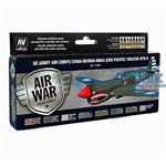 Model Air Set US Army Air Corps  China Burma India