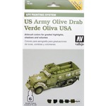 Model Air Set - US Army Olive Drab Set