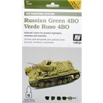 Model Air Set - AFV Russian Green 4BO Set