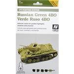Model Air Set - AFV Russian Green 4BO Set