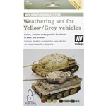 AFV Weathering for grey and yellow Vehicles Set