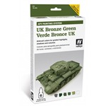 Model Air Set - AFV UK Bronze Green Set