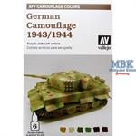 AFV Model Air Set German Camouflage 1943/44