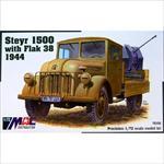 Steyr 1500 with 2cm Flak38 1944