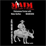Vietnamese Farmer w/ Water Buffalo