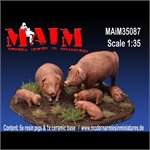 Animal Set - Pigs / Schweine
