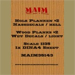 Holz Planken #2 -Decals