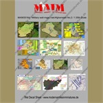 Military Wall Maps Irak/Afghanistan No. 2