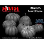 Pumpkins/ Kürbisse Set/ Uniscale