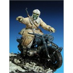 German motorcyclist, WW2 Eastern Front