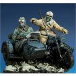German motorcycle crew