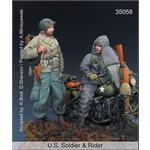 US Soldier & Rider