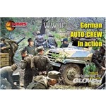 WWII German auto-crew in action
