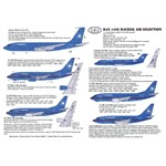 Maersk Air Fleet Decals 1:144