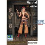 Marshal Jessie 1/24 Pin Up