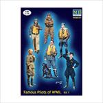 Famous pilots of WW II Set #1