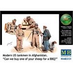 Modern US tankmen in Afghanistan