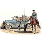 Urgent dispatch! Sd.Kfz. 2 Type 170VK with crew
