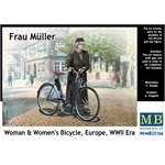 Frau Müller. Woman & Women's Bicycle, Europe