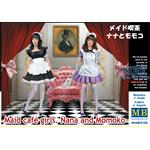 Maid Cafe Girls -  Nana and Momoko 1/35