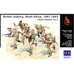 British Infantry, North Africa, 1941-1943