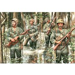 US Marines in Jungle, WW II era