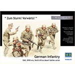 German Infantry, DAK, WWII, North Africa Battle