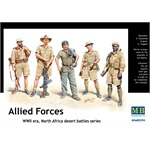 Allied Forces, WW II, North Africa, desert battles