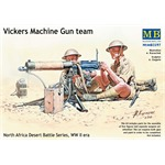 Vickers MG team, Desert Battle Series, WW2