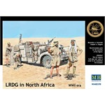 LRDG in North Africa, WW2