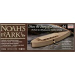 Noah's Ark with Noah figure and animals