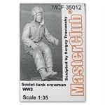 Soviet tank crewman WW2