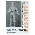 Soviet mountain soldier, 1942 - 43, Caucasus