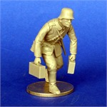 German soldier carriing Ammo WWI