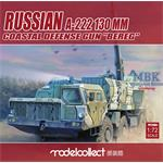 Russian 130mm A-222 bereg pre-painted Kit