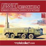 Russian 9K723 Iskander-M pre-painted Kit