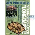 Model Art AFV Profile 3 Sturmgeschütz III Lang