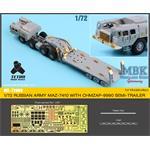 MAZ-7410 w/ChMZAP-9990 Semi-Tailer Detail set
