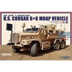 US Cougar 6x6 MRAP Vehicle